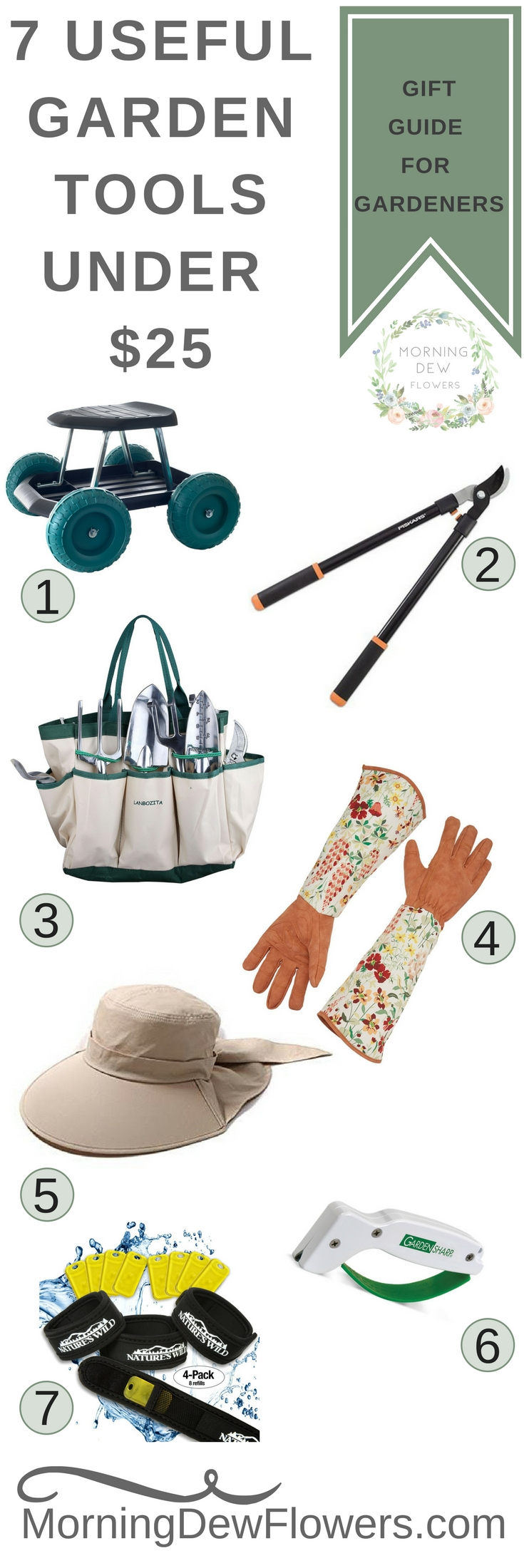 7 Useful Garden Tools Under $25 Gift Guide
